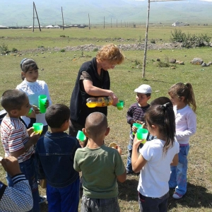 Send ten children to VBS club/Bible camp in Eurasia