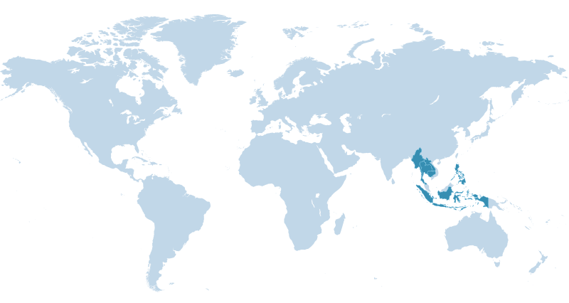 Southeast Asia Full Map